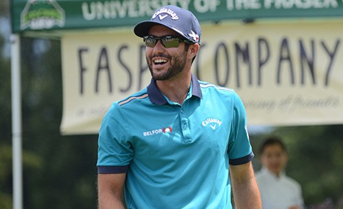 Abbotsford's Adam Hadwin is +2 after nine holes on day one of the Masters.