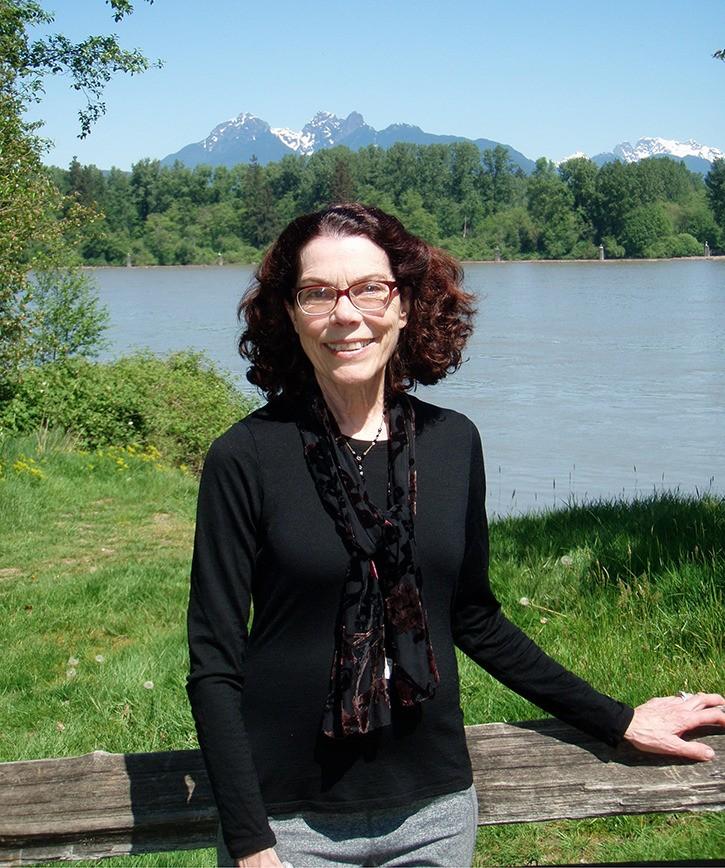 Fort Langley poet Susan McCaslin.