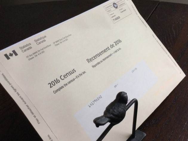 Census envelopes began arriving in the mail this week.
