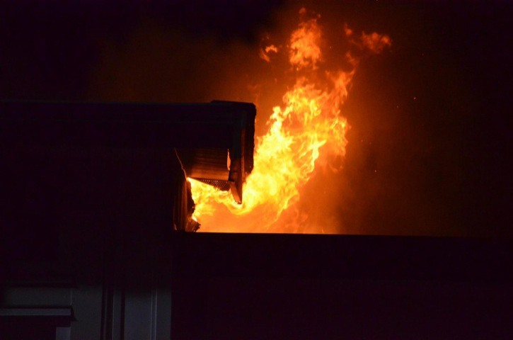 A fire Tuesday night at a townhouse complex in the 8200 block of 209A Street in the Yorkson area of Willoughby has led to the temporary displacement of three families. The fire originated on the exterior deck of one unit of the complex.