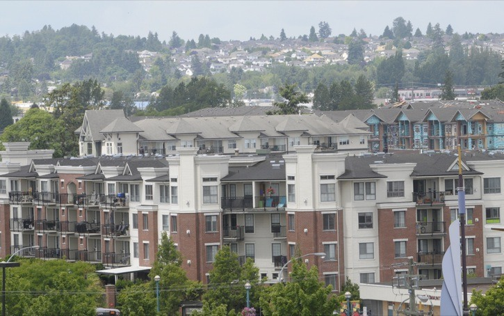 Apartments and townhouses in Langley City have actually seen a slight decline in assessed value in 2011. Single-family homes have gone up slightly in value, according to B.C. Assessment Authority.