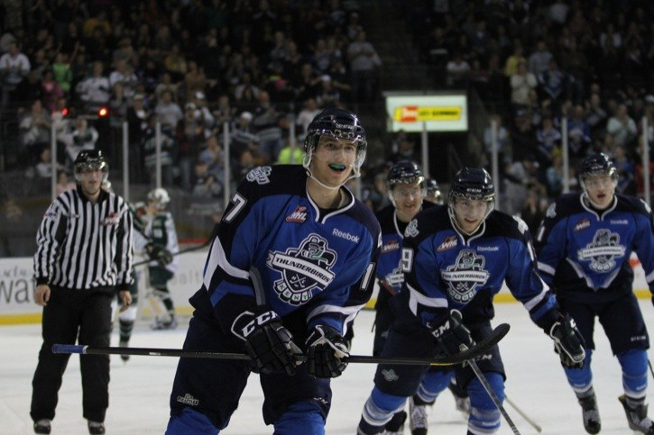 Shea Theodore has plenty to smile about these days as the Aldergrove blue-liner is expected to be taken in the upcoming NHL Draft.