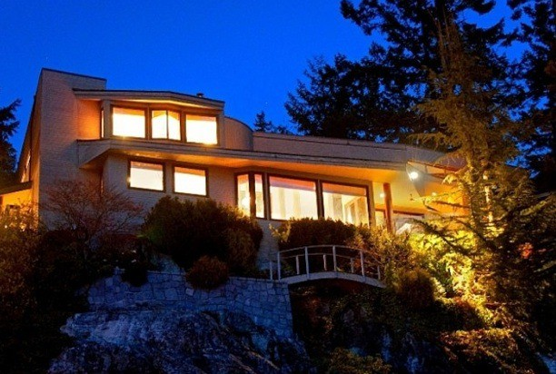 This 18-year-old West Vancouver waterfront home is listed at just under $9 million.