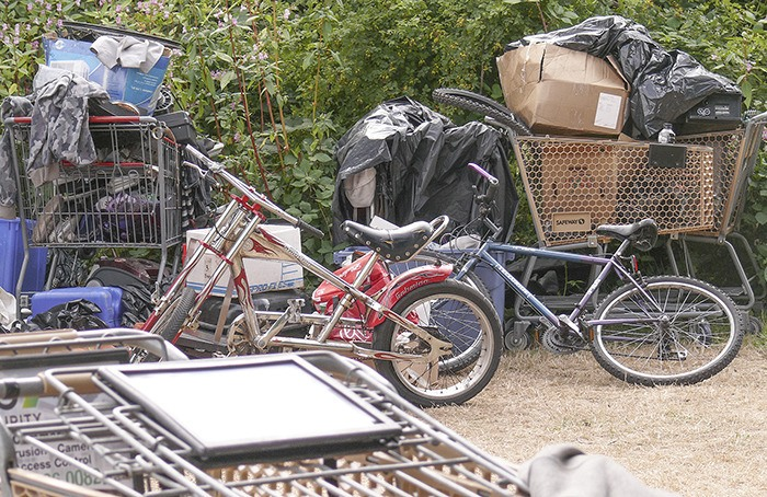 Langley City has reached a deal to provide housing for the homeless, in particular residents of this homeless camp located in Nicomekl park on the west side of 208 Street, just south of Fraser Highway