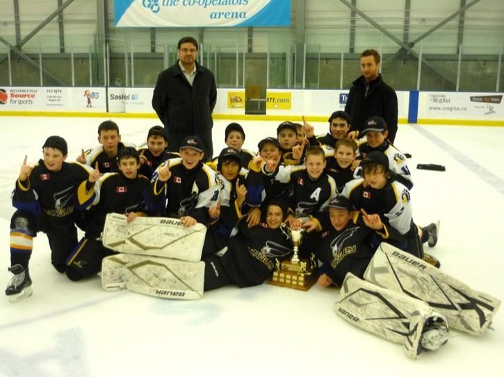 Eagles soar to title in Regina