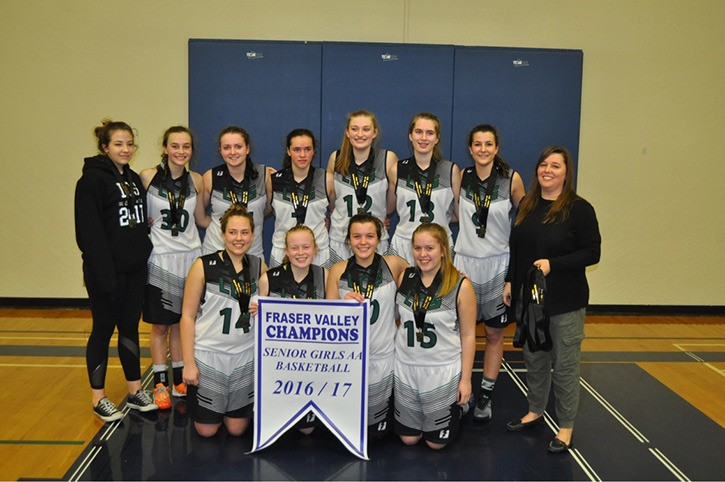 The Langley Christian Lightning used a dominant second half defence to pull away from the G.W. Graham Grizzlies in the Fraser Valley 2A senior girls championship final.