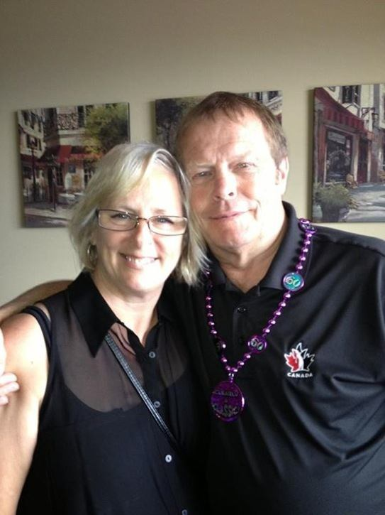 Steve and Wendy Taylor have benefited greatly from the work of  Langley Community Support Groups Society, and gave back by organizing a fundraiser that brought in $17,000.