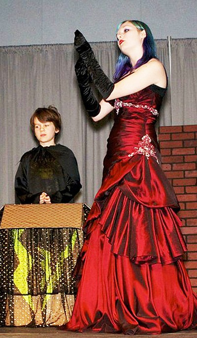 Jessie Sapach performs in Stage Coach Theatre School's year-end musical, Not Another Snow White Story.