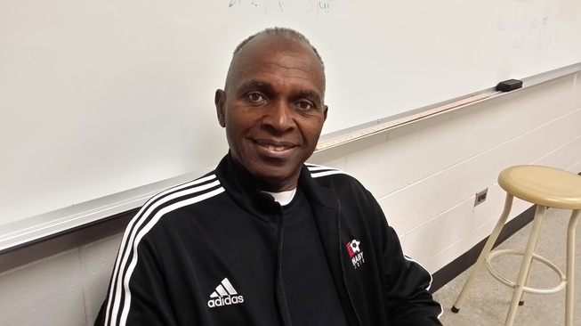 HD Stafford teacher Djiba Camara has been off work battling liver cancer. But despite his own health challenges, he is still fundraising to give back to his home country of Guinea through a gofundme account.