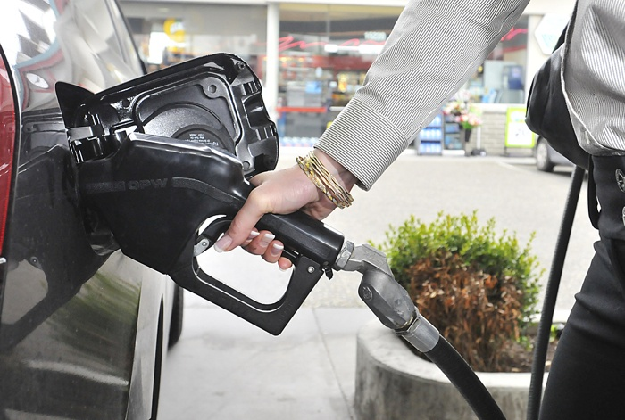 Critics of high gas taxes say Lower Mainland drivers increasingly drive south to save at the pump but also buy other items in the U.S.
