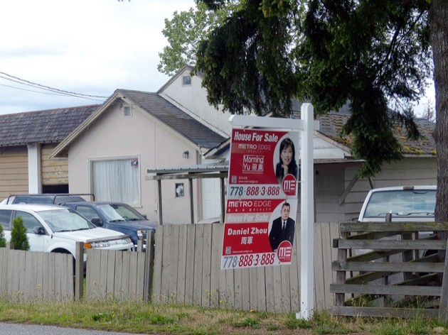 The tax on real estate transactions is  expected to be worth $1.54 billion for B.C. in 2017.