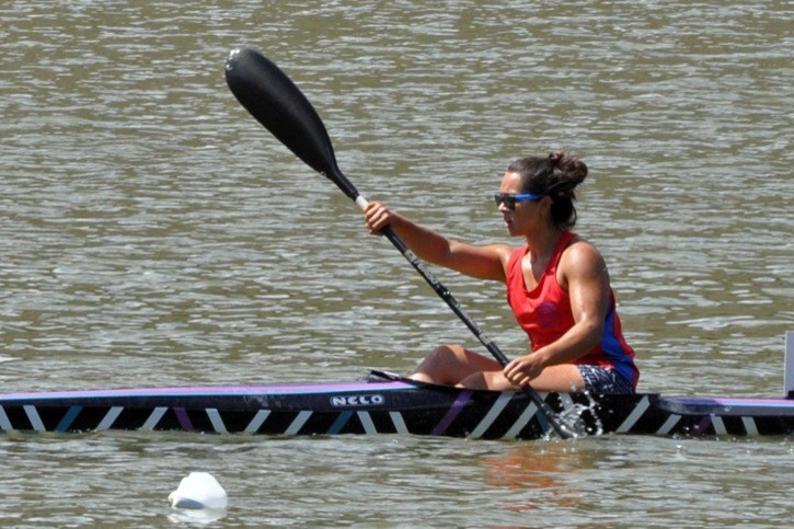 Langley's Lauryn Cheung is in Montreal this weekend competing at the national team trials with Canoe Kayak Canada.