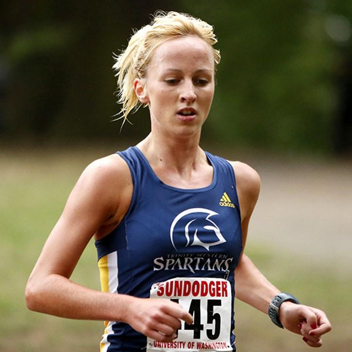 Trinity Western's Sarah Inglis won the University of Washington's Sundodger Invitational over the weekend in Seattle.