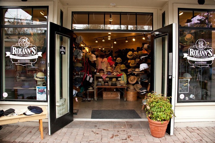 Roxann's Hats in Fort Langley is one of three Langley businesses in the semifinals for the 14th annual Small Business BC Awards.