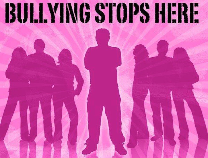 Bullying Stops Here: The tagline for Canada's Pink Shirt Day is quite self-explanatory.