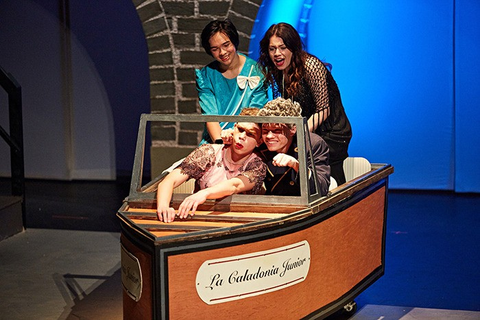 Students from Langley Fine Arts School are taking audiences back to the 1920s in their production of Some Like It Hot.