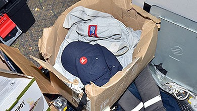 A stolen Canada Post uniform was among thousands of stolen items found by police during an investigation into a series of fraud-related crimes, including mail theft. A Langley man and woman have been arrested and charged with fraud, identity theft and possession of property obtained by crime.