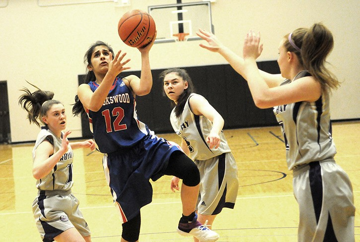Brookswood Bobcats' Neyha Lali was named a second team all-star after helping the Bobcats finish ninth at the B.C. junior girls provincial basketball championships at the Langley Events Centre. The 'Cats went 4-1 and defeated Heritage Woods 47-40 in the ninth/tenth place game on Saturday.