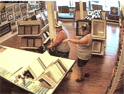 These two women are suspected of shoplifting at a few stores in downtown Langley in the past couple weeks.