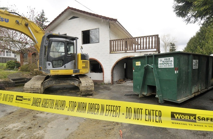 Unsafe handling of asbestos in the demolition of Lower Mainland homes has been a recurring problem and a top enforcement priority for WorkSafeBC in recent years.