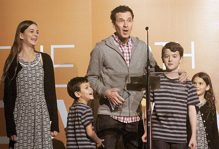 The Springman Family Band, from Langley, won Children's Album Of The Year at the GMA Canada Covenant Awards ceremony in Edmonton.