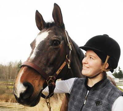 Stephanie Ross and her horse, Wiese, are dreaming big. Ross is currently ranked ninth among Canada's Para-equestrian riders, with an eye on qualifying for the 2012 Paralympic Games in London.