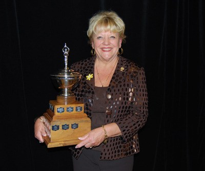 Jan Morgan is the 2011 winner of the Eric Flowerdew award.