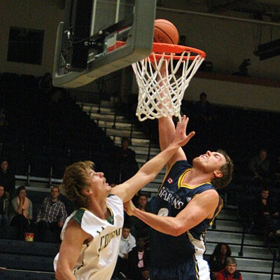 Jacob Doerksen is playing basketball professionally in Germany.