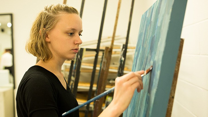 Amy Reese of Langley is one of the TWU graduating art students showing in White Rock in April.
