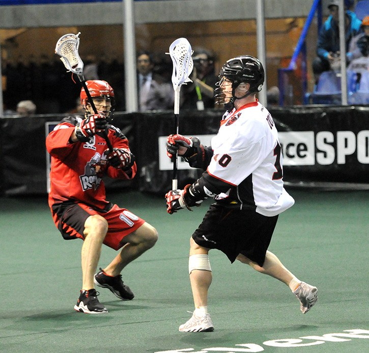 Vancouver Stealth sniper Rhys Duch was named the National Lacrosse League's first star of the week after an eight-point performance on March 29.