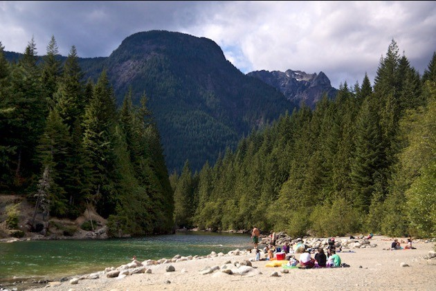 Golden Ears Provincial Campground.