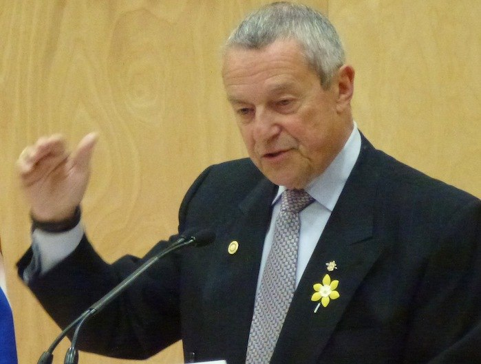 Former Education Minister Peter Fassbender is now Minister of Community, Sport and Cultural Development, with responsibility for TransLink as well.
