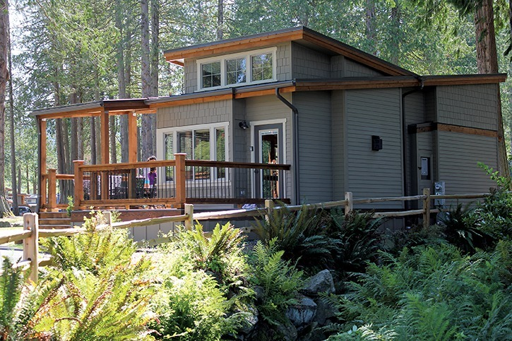 Wildwood Lakefront Cottages are just 55 kilometres from the Blaine border.