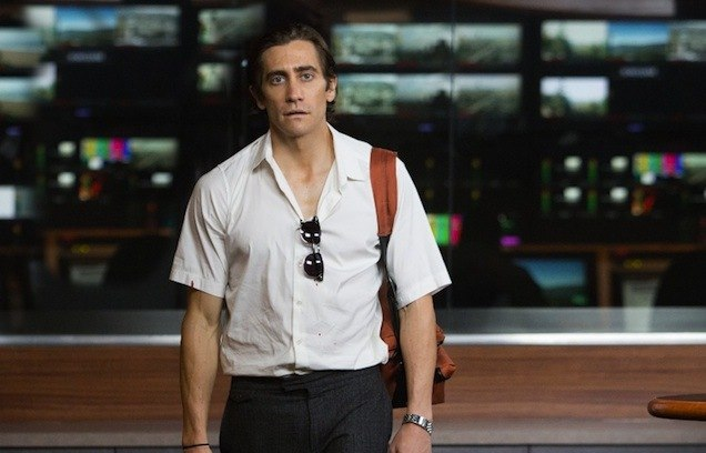 Jake Gyllenhaal stars as an obsessive late-night cameraman and videographer in the much-anticipated noir film 'Nightcrawler'.