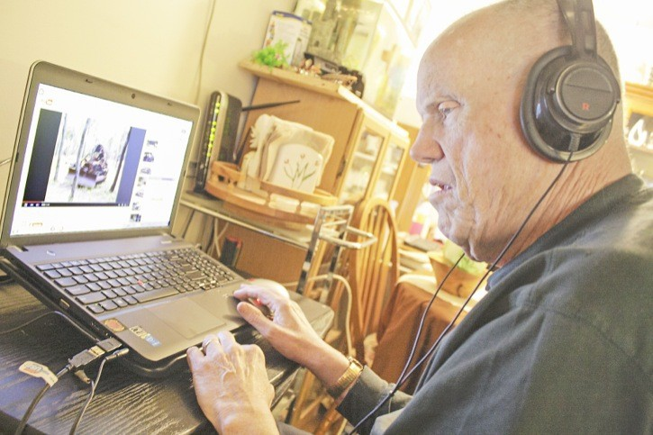 John Mercer is happy to be back online. The legally-blind man had his specialized computer stolen from his home, but an anonymous donor came forward so that he could get a new one. He picked it up on Saturday.