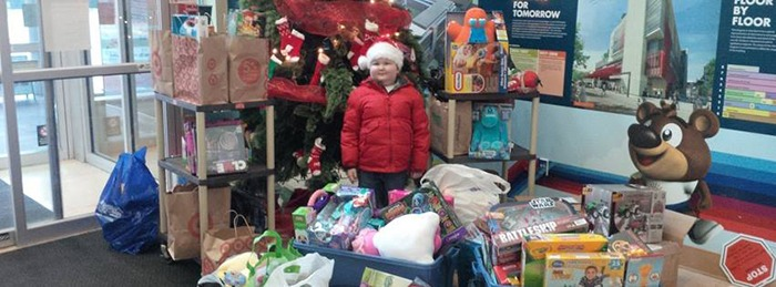 Six-year-old Langley boy Keian Blundell collected and delivered 300 toys to children at B.C. Children's hospital last December before losing his own battle with cancer on New Year's Day. Another Christmas toy drive is being held in Keian's memory, with drop-off locations now open across Metro Vancouver. Donations will be accepted until Dec. 15.