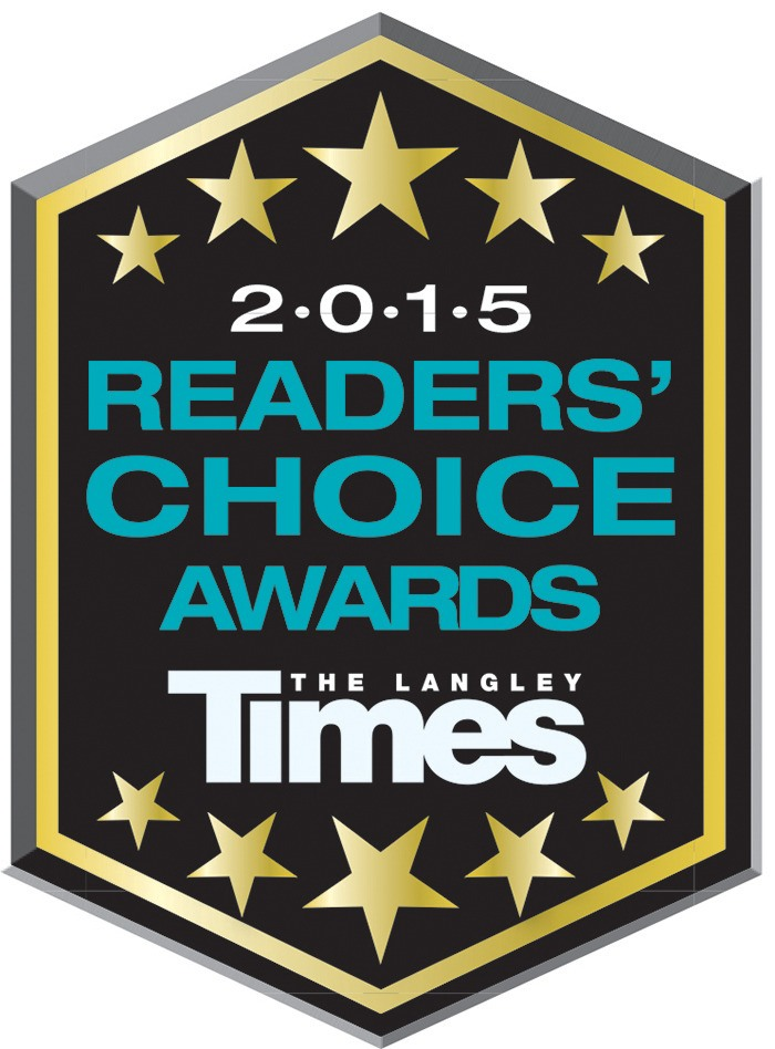 Polls are open for Langley Times first annual Readers' Choice Awards