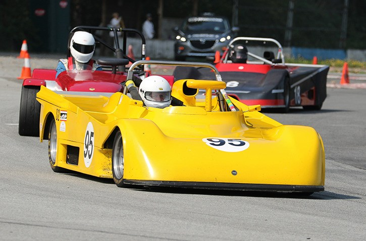 Langley resident Phil Roney in his #95 Tiga SC84 sports racer will be racing April 15 and 16  at the Sports Car Club of B.C. McRae Memorial races at the Mission Raceway road course.  This will be the first race of the season for Phil who will be chasing the 2016 Sports Car Club of B.C. sports racer championship.