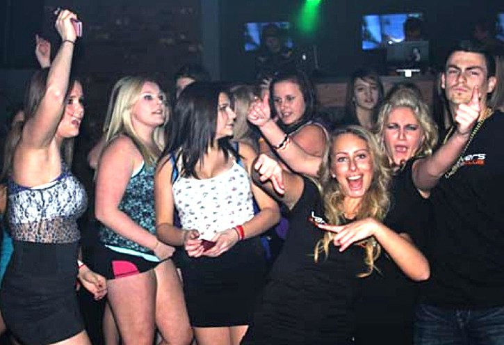 Teen patrons of Vancouver's Ultimate Dance Club in Langley are shown in a  picture posted on the now-defunct club web site. It announced it was going  out of ...