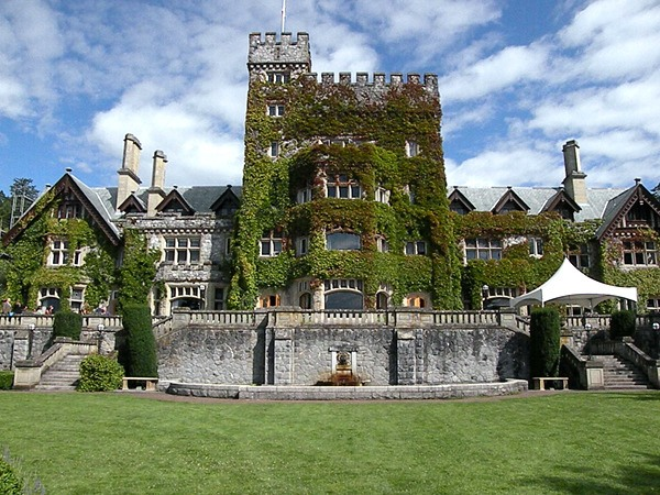 Hatley Castle near Victoria became familiar to movie-goers around the world as a location for the X-Men movie series.