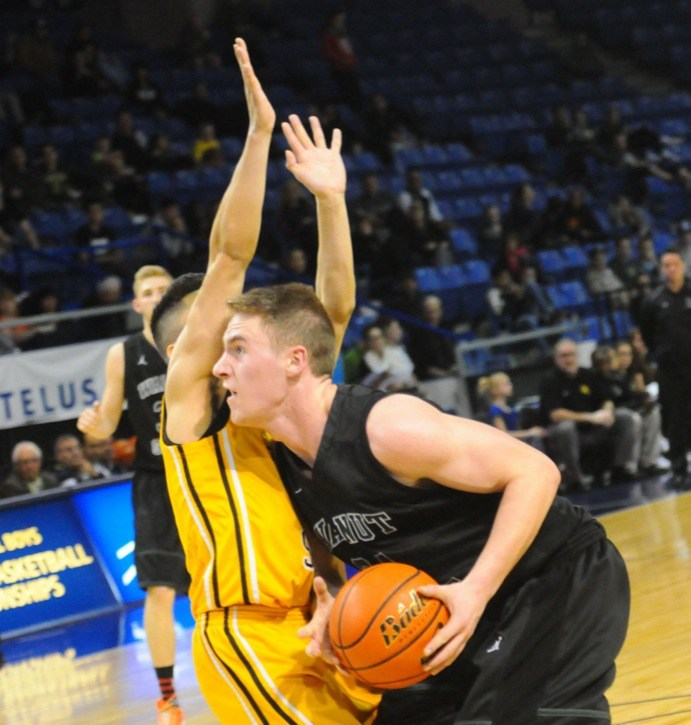 Walnut Grove Gators' Tyler Anderson was named a second team all-star at the B.C. 4A senior boys basketball championships. The Gators finished ninth.