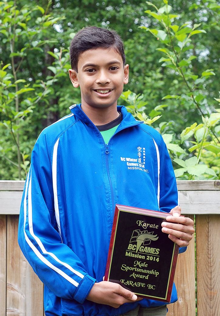 In January, Swaraj Aravindhan, 13, became paralyzed after a flu-type illness. The competitive karate athlete  received lots of support from his teammates at Walnut Grove KimNik Shotokan Karate Academy which helped him make a quick recovery of two months of hard work and physiotherapy. After a fellow student gave Swaraj his own black belt to hold onto in the hospital, now the local student wants to earn the prestigious belt, too.