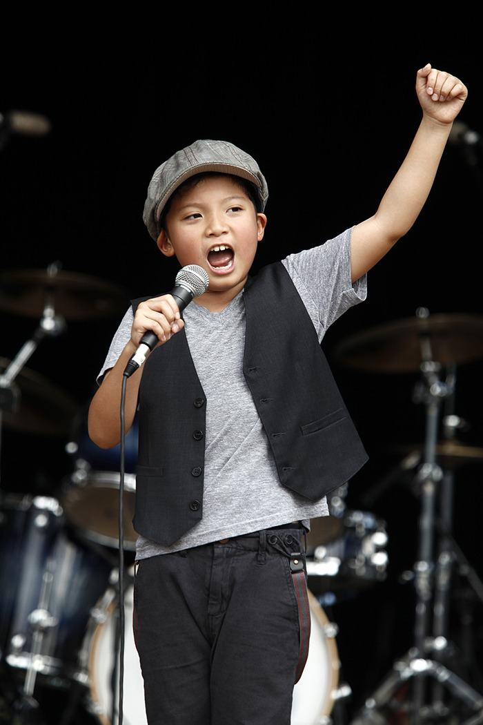 Eight-year-old Tyson Venegas, who was presented with a scholarship by the Vaudevillians, will perform at the Nov. 9 show at the Surrey Arts Centre.
