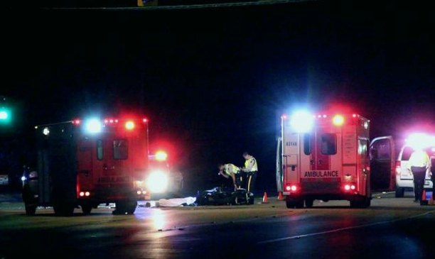 A car-motorcycle crash claimed the life of a 32-year-old Langley man