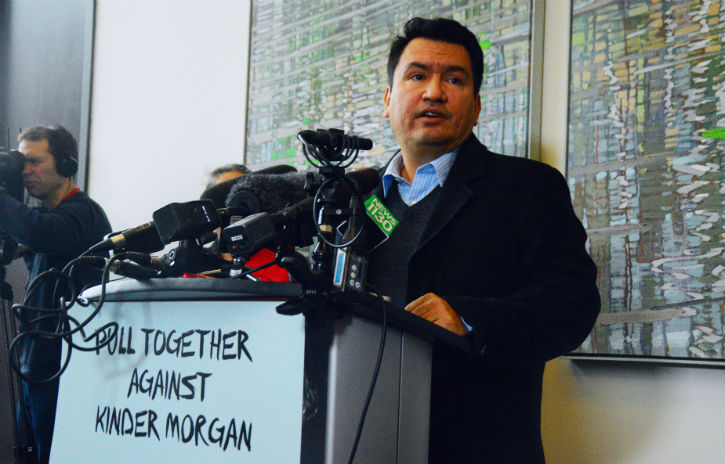 Squamish Nation Chief Ian Campbell says the federal government completely failed to consult on the Kinder Morgan pipeline.