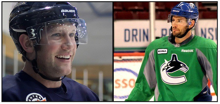 Blues' captain David Backes and Canucks' two-way backbone Ryan Kesler have had their share of battles in recent year.