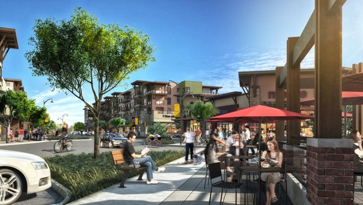Willoughby Town Centre will be a gathering place in Langley.