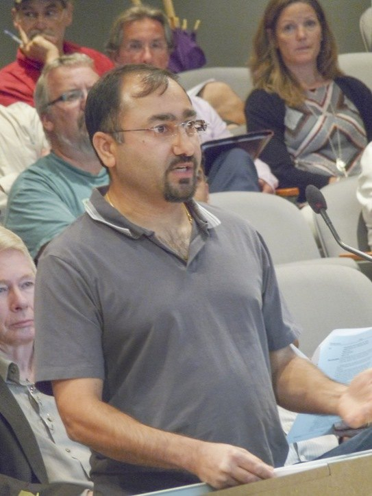 Ashish Kapoor said Yorkson residents would support temporary parking on 80 Avenue because it would allow time to find a more permanent solution to a shortage of visitor parking.