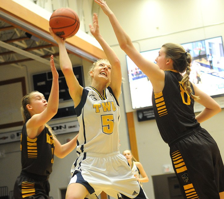 Kayla Gordon and her Trinity Western Spartans teammates have qualified for the Canada West playoffs.