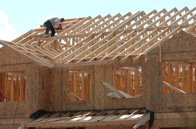 New home construction is running at a fast pace so far this year, with starts up nine per cent in Metro Vancouver and 70 per cent in Abbotsford.